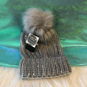 David and Young Studded Winter Hat